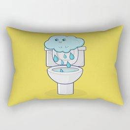 Bathroom Break Rectangular Pillow