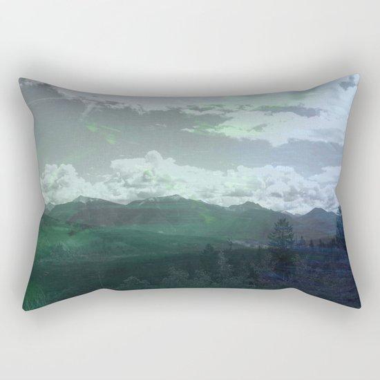 Moody Wanderer Rectangular Pillow