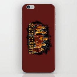 Space Cowboys iPhone Skin