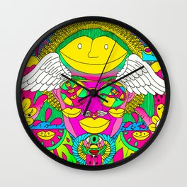 A Game of Love Wall Clock