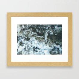 Grand River Splashing Framed Art Print