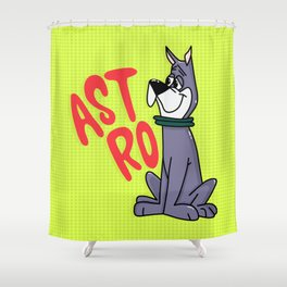 Astro the Dog Shower Curtain