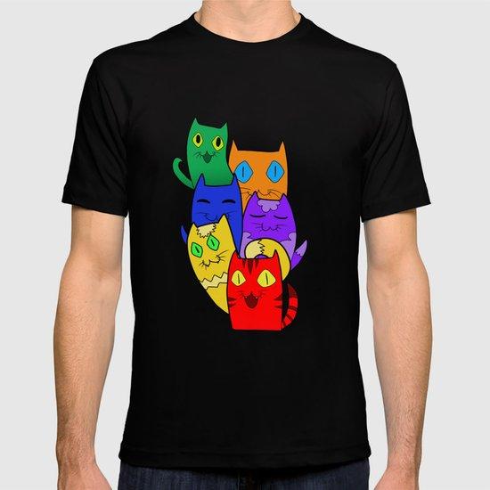 Urban cats T-shirt