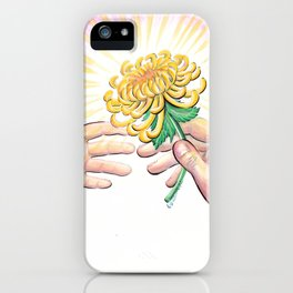 Gift of a Flower iPhone Case