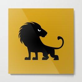 Angry Animals - lion Metal Print
