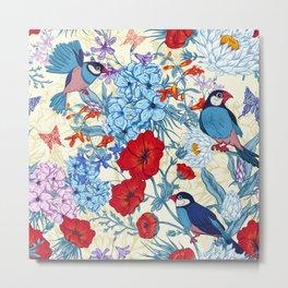 Summerland Birds III Metal Print