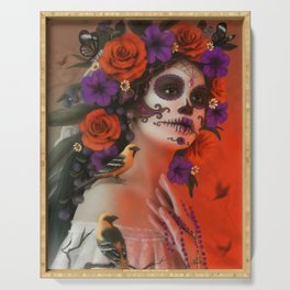 Day of the Dead Serving Tray