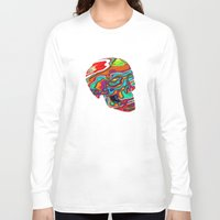 lsd Long Sleeve T-shirts featuring LSD Skull by johannesart