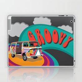 Groovy Camper Van Fantasy Laptop & iPad Skin