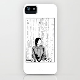 The Girl in a Box - Apprehension iPhone Case