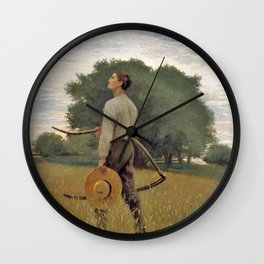 Song Of The Lark - Digital Remastered Edition Wall Clock