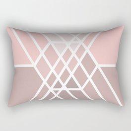 Hex-a-daisy Rectangular Pillow
