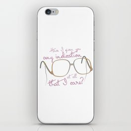Funny Sofia Quote - The Golden Girls iPhone Skin