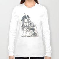 walking dead Long Sleeve T-shirts featuring Walking Dead by Heather Andrewski