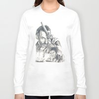 the walking dead Long Sleeve T-shirts featuring Walking Dead by Heather Andrewski