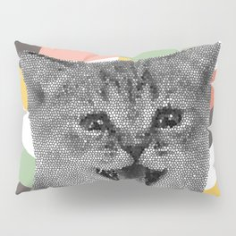 GEOKitten Pillow Sham