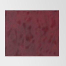 VELVET DESIGN - red, dark, burgundy Throw Blanket