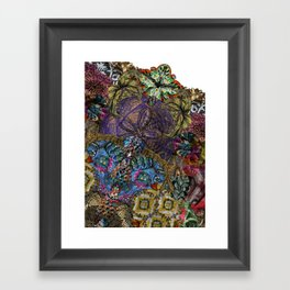 Psychedelic Botanical 8 Framed Art Print