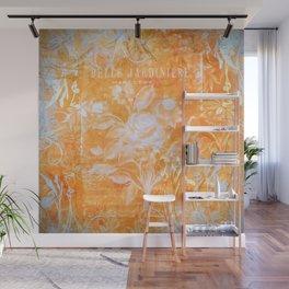 French Twist Orange Wall Mural