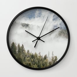 Mountain, Nature Photography, Wanderlust Wall Clock