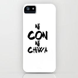 Ni Con Ni Chiwa iPhone Case