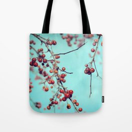 Hawberry Winter Tree Tote Bag