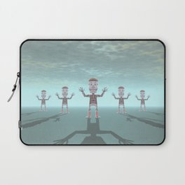 Characters Made of Stone Laptop Sleeve