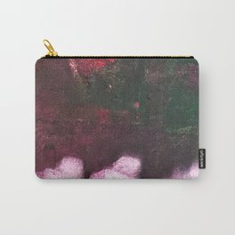 What's In The Forest? Forest, Abstract, Painting, Jodilynpaintings. Red, Green. Carry-All Pouch