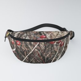 Thorned Berries of Winter Fanny Pack