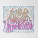 I WOULD RATHER BE UNPREDICTABLE (HAND LETTERED DESIGN) by aej_design