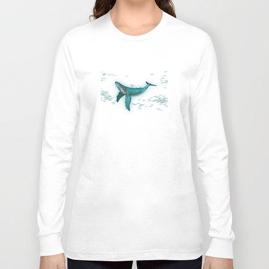 rhythm of the whale Long Sleeve T-shirt