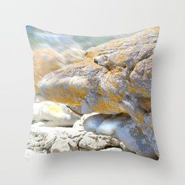Rocky Tocky Throw Pillow