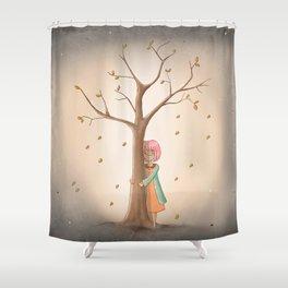 My Last Tree Shower Curtain