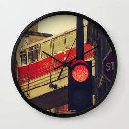 Tramway to the sky - Fine Art Photography Wall Clock