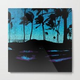 Hawaii Lap Metal Print