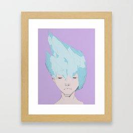 """""""Ice Shards""""  Framed Art Print"""