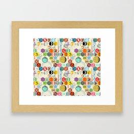 Math in color (little) Framed Art Print