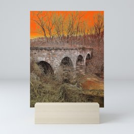 Grampa Bridge Mini Art Print