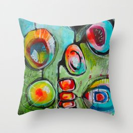 Pleine conscience/Mindfulness Throw Pillow