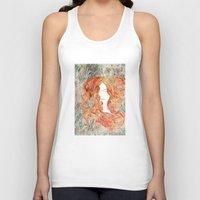 perfume Tank Tops featuring Perfume #1 by Dao Linh