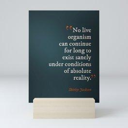 Absolute Reality Mini Art Print