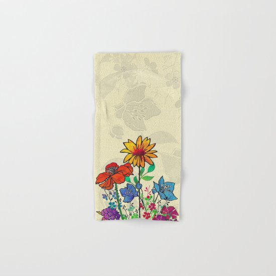 Flower Tales 5 Hand & Bath Towel