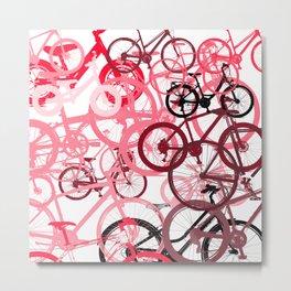 PinkBikeS Metal Print