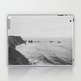 CALIFORNIA COAST II (B+W) Laptop & iPad Skin