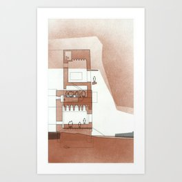 copper series 2 Art Print