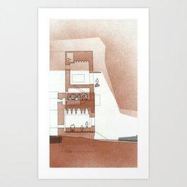 copper series 2 Art Print