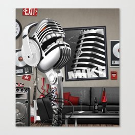 Mike Canvas Print