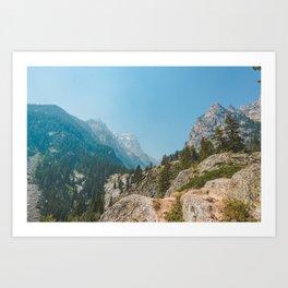 Cascade Canyon, Grand Teton National Park Art Print