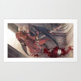 Trigger of Thymia Art Print
