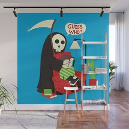 Guess Who Wall Mural
